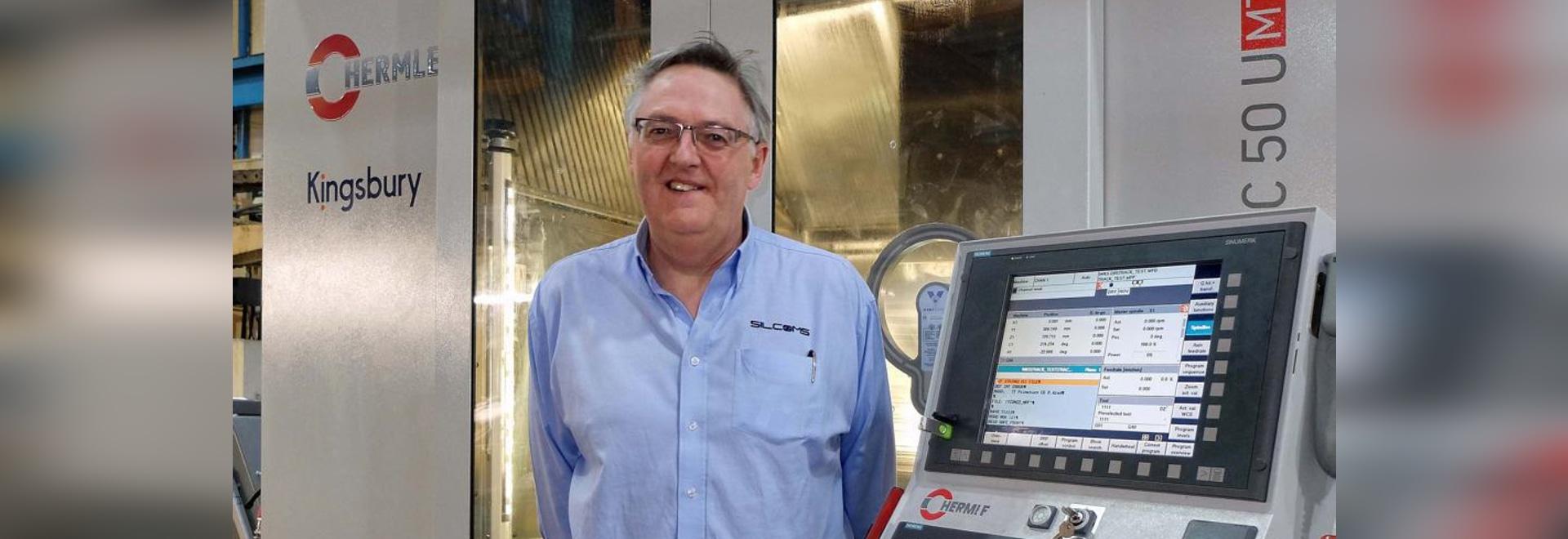 Jim Hill, Managing Director, Silcoms