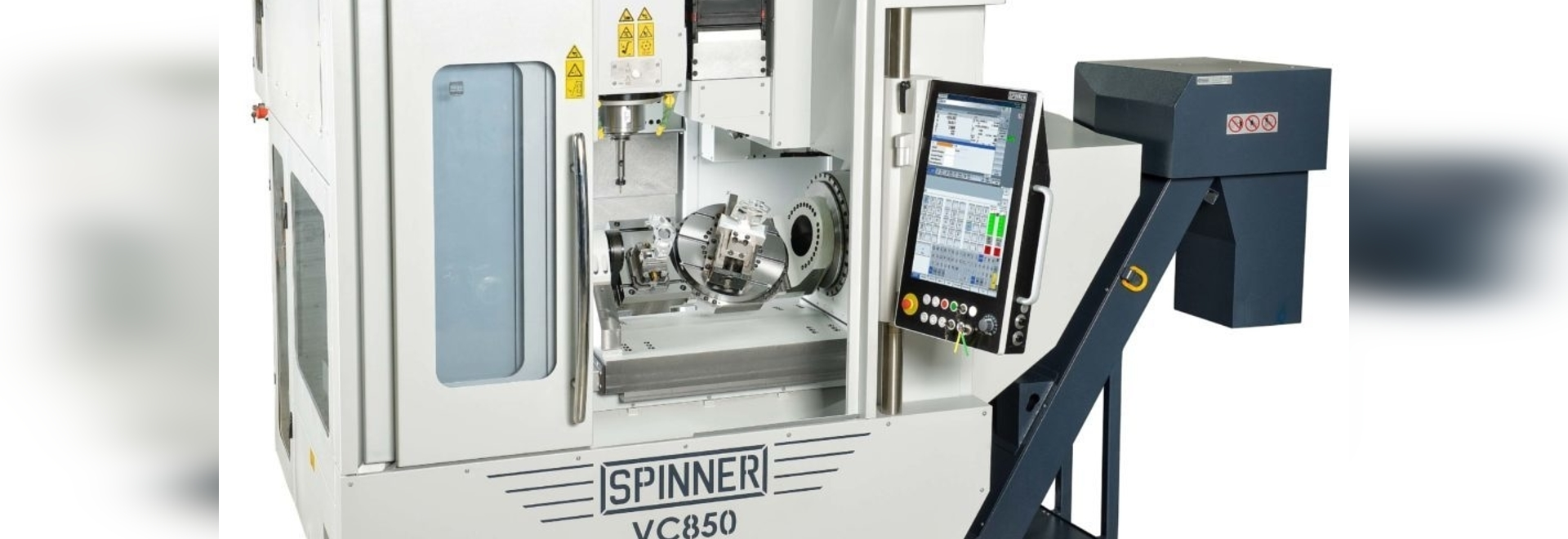 New 5-axis machining centre from Germany