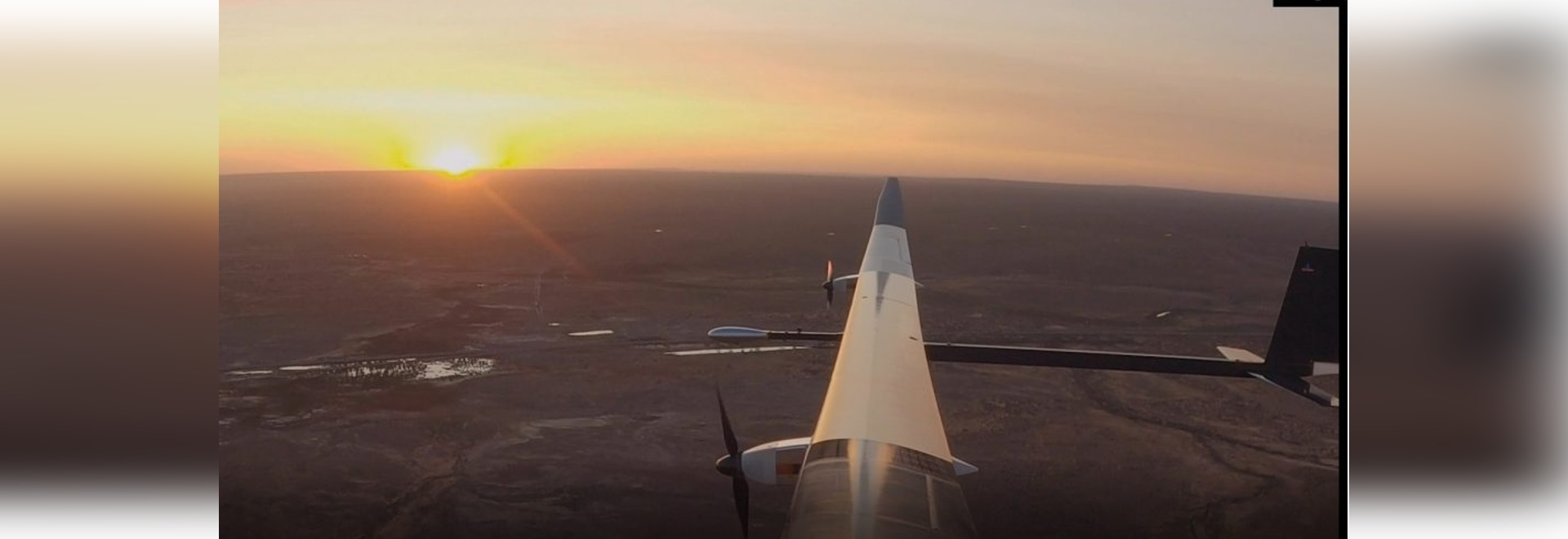 Solar powered unmanned aircraft makes first flight