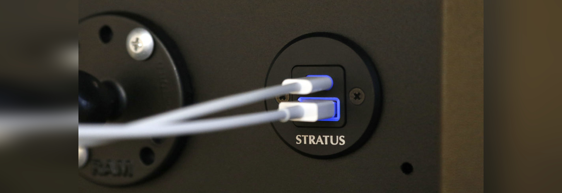The update to the Stratus Power provides 20 percent more power to recharge smartphones and other devices while in use during flight.