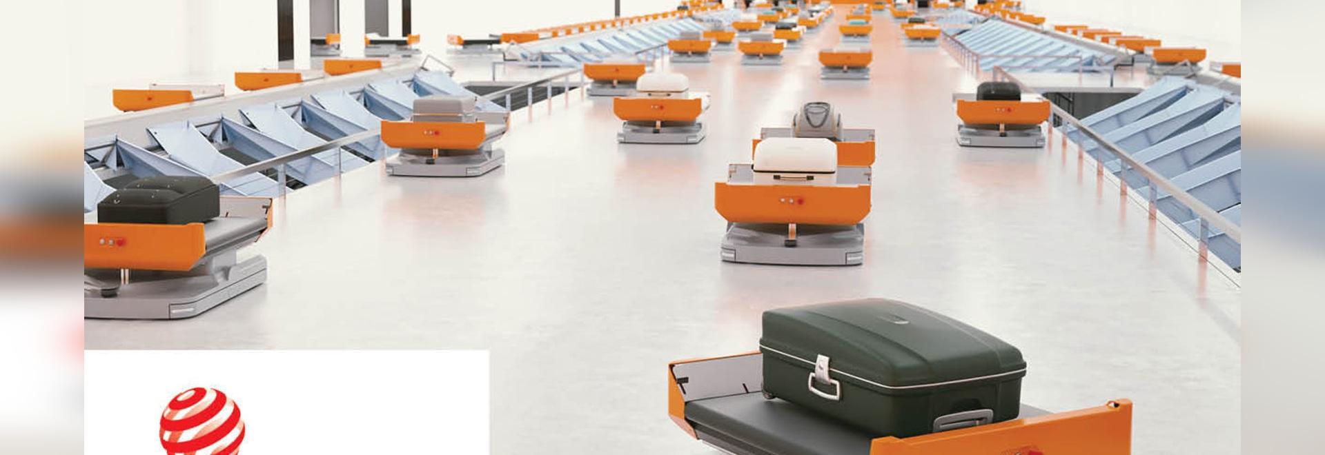 Vanderlande receives Red Dot design award for innovative baggage handling solution