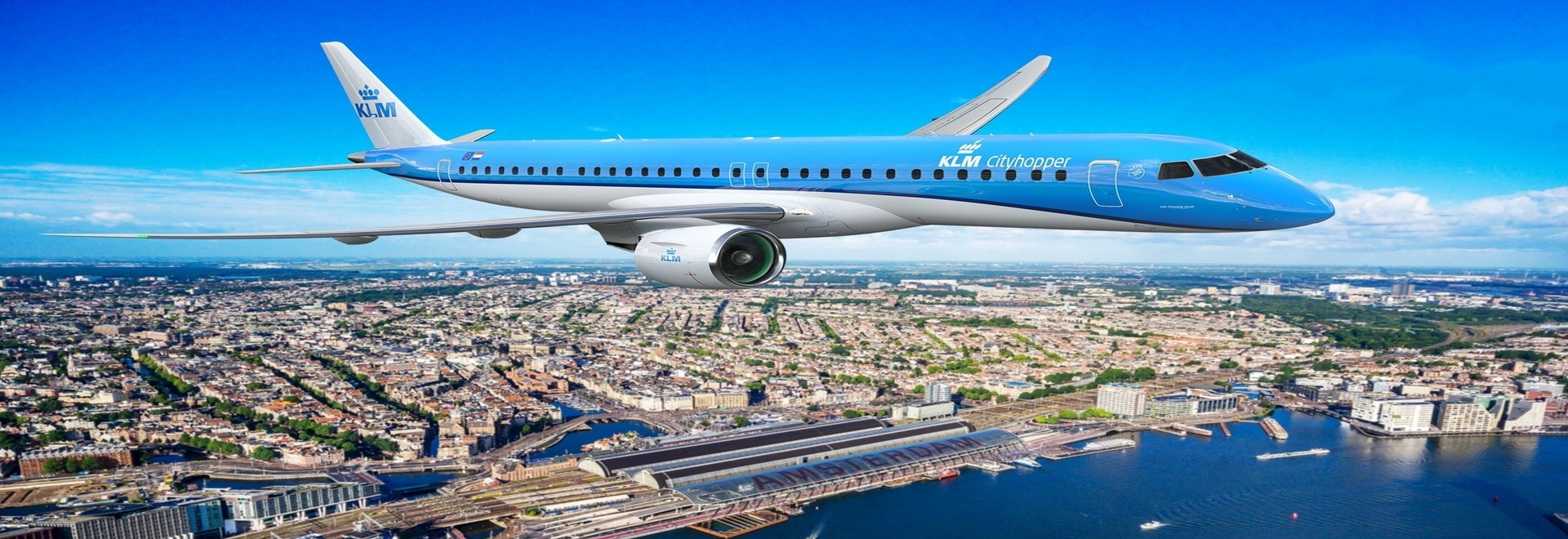 Where will KLM's Embraer E2 fly?