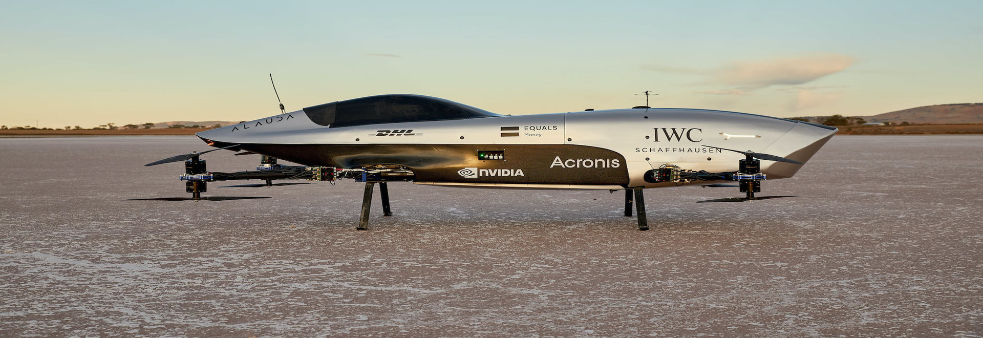 WORLD'S FIRST FLYING RACING CAR MAKES HISTORIC FLIGHT