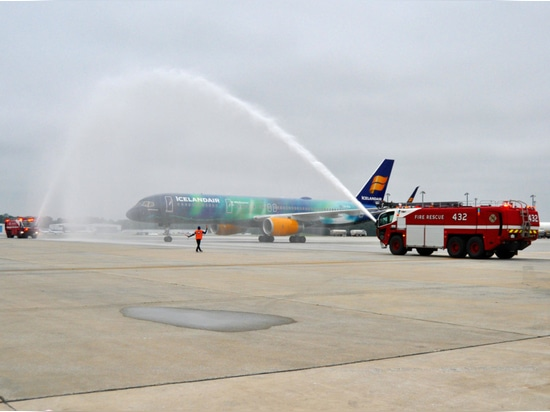 Icelandair offers four weekly roundtrip flights from BWI Marshall with its Boeing 757-200 aircraft.