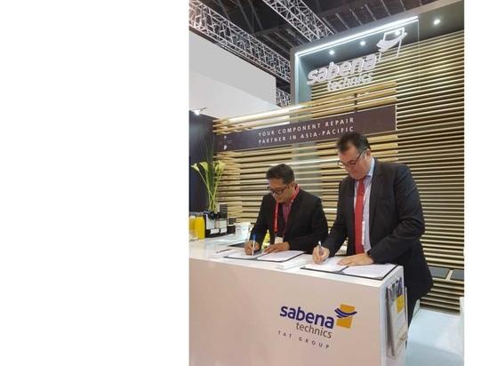 Sabena technics and PT Pelita Air Service Extend Their Comprehensive Component Support