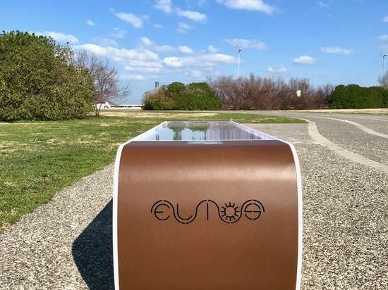 ELIOS solar smart bench