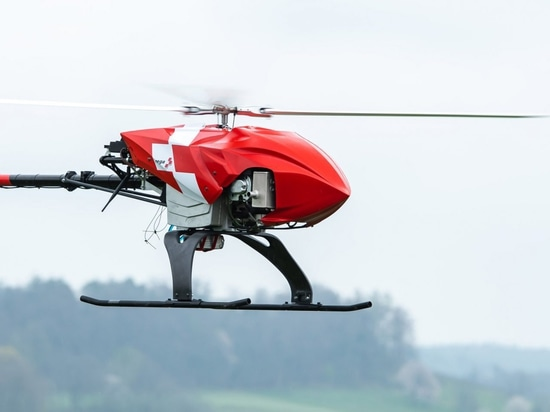 Rega rescue drone will autonomously search for missing persons