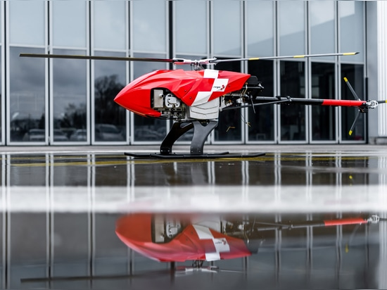 Swiss air rescue service is trialling the drone