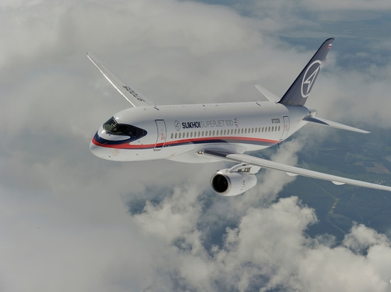 Some 75 percent of all Sukhoi SSJ100s still flying operate in Russia. (Photo: SCAC)