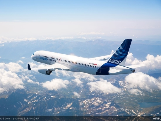 Airbus opens up new routes for A220 with extended range