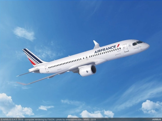 Air France-KLM commande 60 Airbus A220