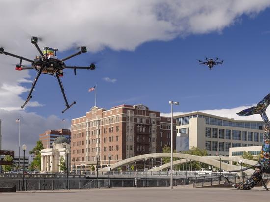 La NASA invite les médias à tester le trafic de drone à Corpus Christi, Texas