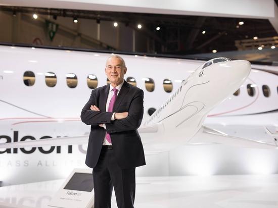 Thierry Betbeze takes command of Dassault Aviation's DFJ unit