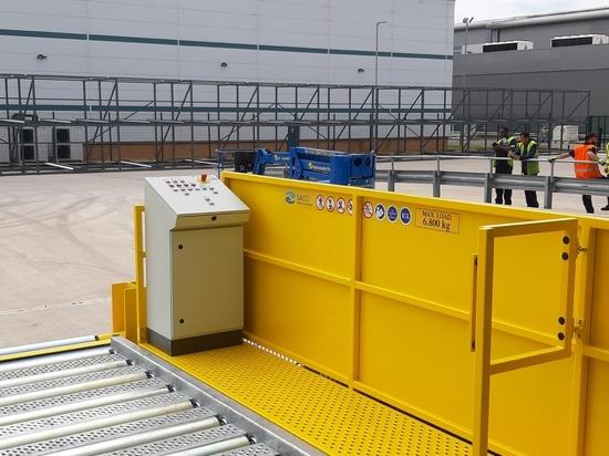 Operator Panel and Operator Walkway of Truck Dock