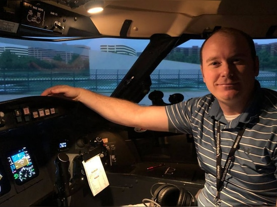 """I went from no time in 2017 to professionally flying a regional jet in 2019."""