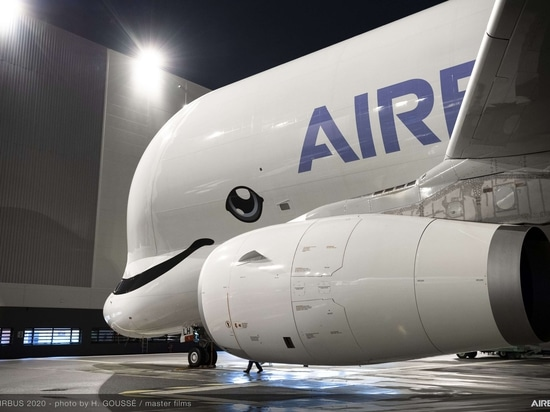 first belugaxl delivered to ati side view