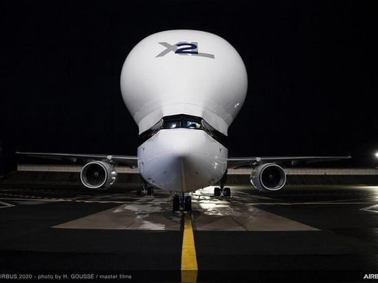 Airbus BelugaXL front view