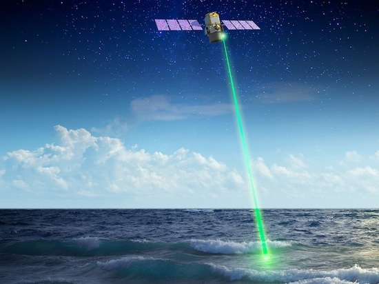 Space laser tracks Earth's biggest migration via the seas