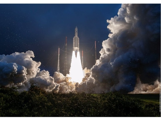 India's GSAT-30 satellite successfully launches aboard Ariane 5