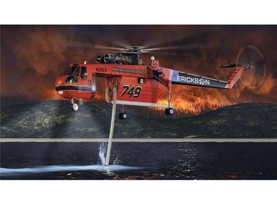 Erickson announces the S-64F+ Air Crane helicopter