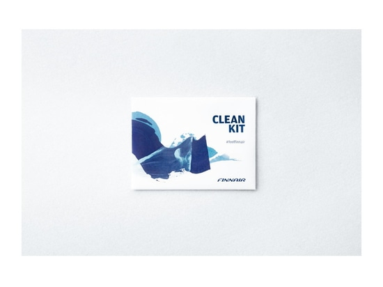 Finnair launches sustainable clean kit for passengers as of tomorrow