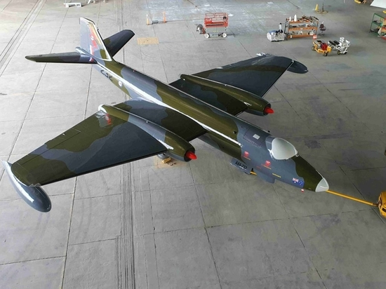 PPG helps restore historic Canberra Bomber aircraft