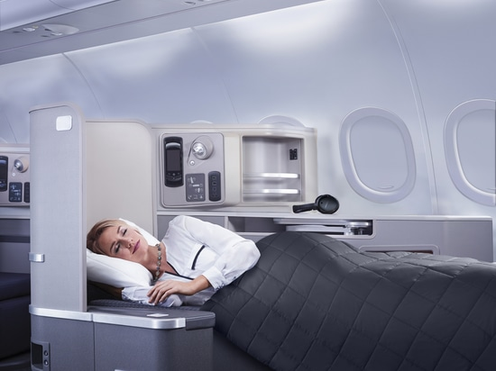 American Airlines A321 Transcon First Class utilises the same hard product on long-haul Business Class