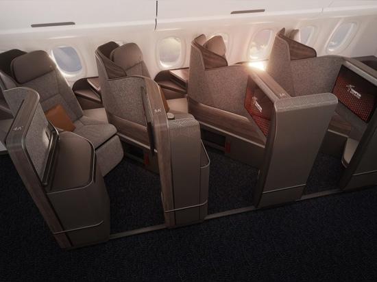 Thompson Aero Vantage Solo offers aisle-facing seats