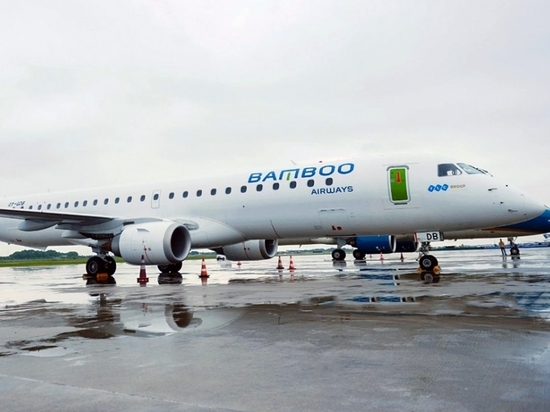 Bamboo Airways' Embraer E195s seat 118 passengers in its single-class configuration.