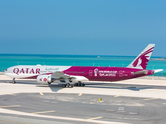 Qatar Airways launches elegant new special livery to celebrate the World Cup in 2022