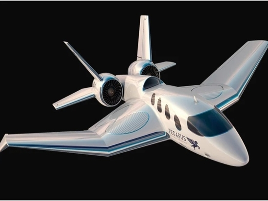 The pegasus vertical business jet blends jet performance with helicopter convenience
