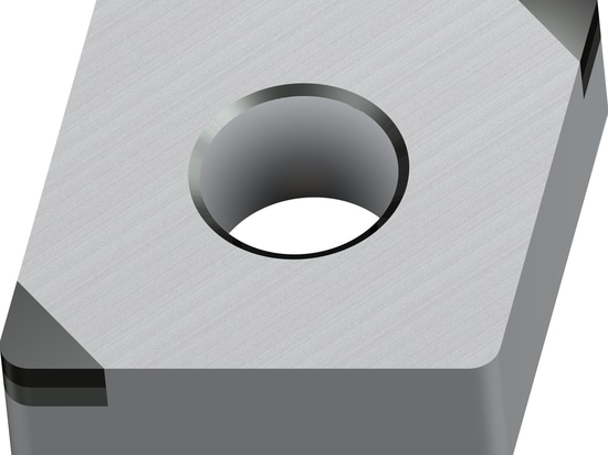 The Walter CBN turning inserts are available both positive and negative in C, D and V form