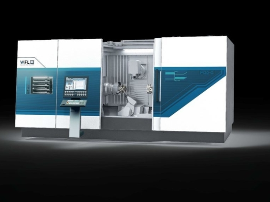 The M20 MILLTURN achieves maximum flexibility and performance with smart machining