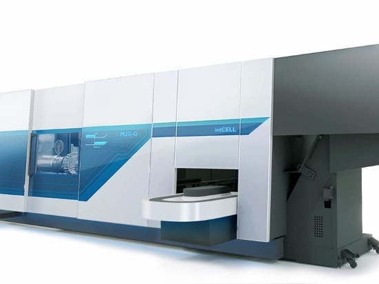 Integrated production cell for automated loading and unloading: intCELL
