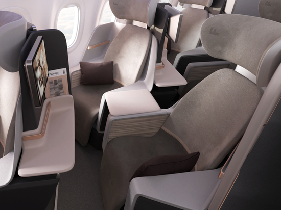 Access all areas. Factorydesign creates show-stopping hybrid all-aisle-access business class seat for narrow bodies