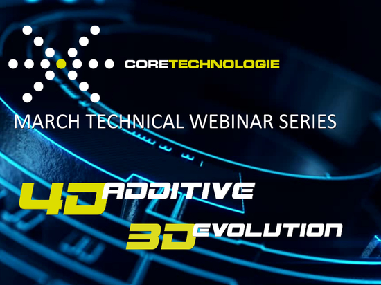 March '21 - Don't miss our series of 3 technical webinars special CAD and additive manufacturing software solutions