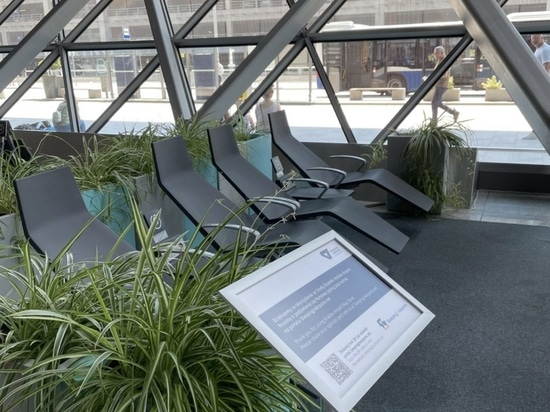 Krakow Airport, Relax Zone for travellers