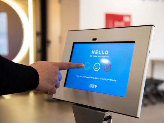 Malta International Airport, Survey screens