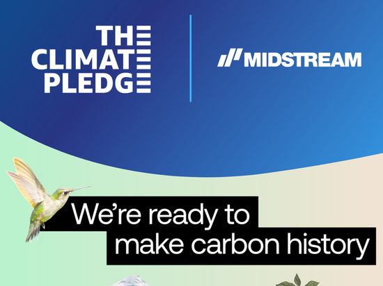 Midstream Lighting joins The Climate Pledge