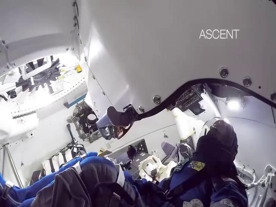 Starliner Orbital Flight Test Cabin Camera Views