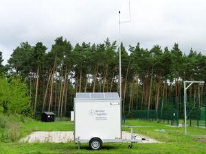 stazione di monitoraggio del rumore per aeroporto