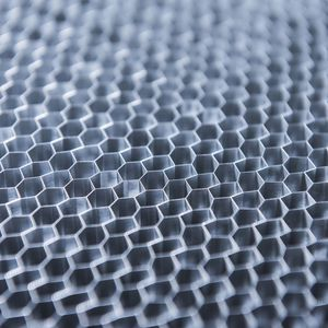 nido d'ape in alluminio / per il settore aerospaziale