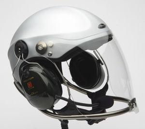 casco per velivolo ultraleggero