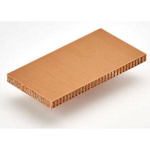pannello sandwich per sedie / rivestimento in fibra di vetro / anima alveolare in carta aramidica / per porta
