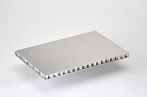 pannello sandwich per sedie / rivestimento in alluminio / anima alveolare in alluminio / per porta