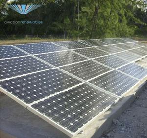 pannello solare fotovoltaico / per aeroporto