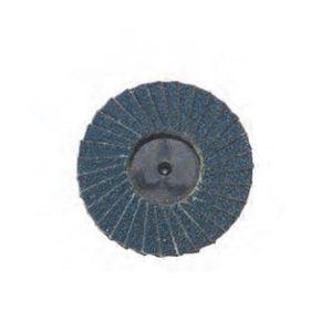disco abrasivo in zirconio / per finitura / per materiali ferrosi / per il settore aerospaziale