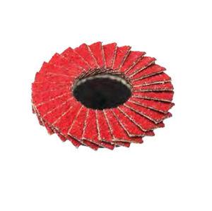 disco abrasivo in ceramica / per finitura / per materiali ferrosi / per il settore aerospaziale