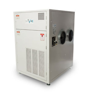 climatizzatore per simulatore di volo / a pavimento / condensato ad acqua / con generatore di fumo