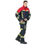 giacca da lavoro / per pompiere / impermeabile / resistente al fuoco